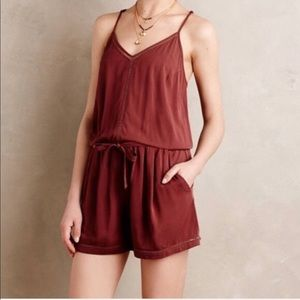 Anthropologie Lilka Nelisa shorts romper